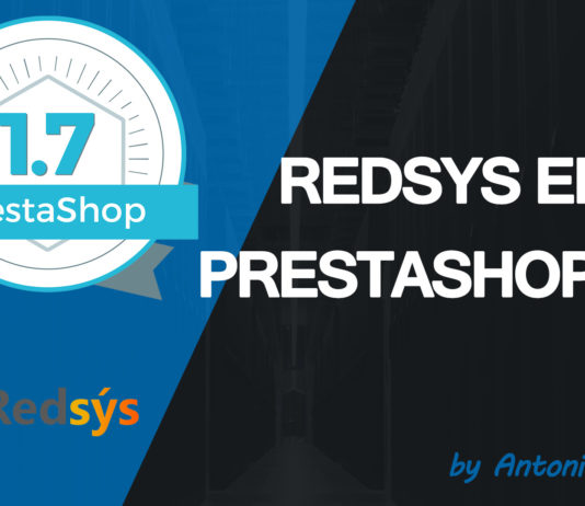 módulo redsys para PrestaShop 1.7